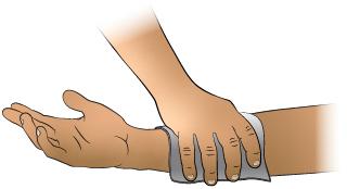 First Aid - Bleeding Arm