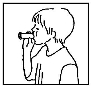 Cómo utilizar un inhalador de polvo seco