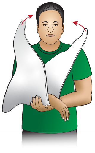 First Aid - Sling - How to Put On