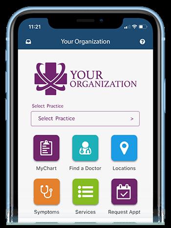AppCatalyst generic home screen self care mobile app